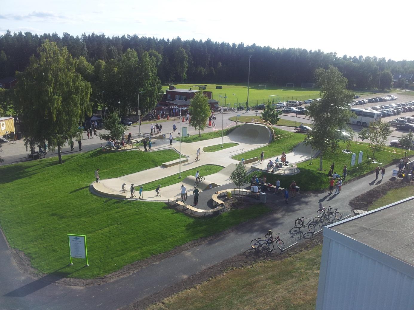 G 246 Tene Skatepark G 246 Tene Kommun